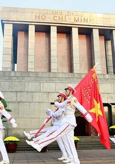 Thiêng liêng lễ chào cờ ngày 2/9 tại Quảng trường Ba Đình