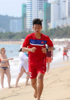 U20 Việt Nam rèn thể lực ở Nha Trang trước khi gút quân dự VCK U20 World Cup 2017