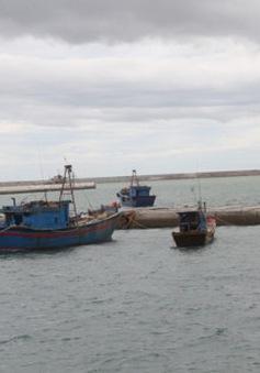 Cứu nạn 3 tàu bị chìm tại cảng Chương Dương, Hà Tĩnh