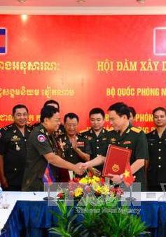 Việt Nam và Campuchia hợp tác xây dựng pháp luật quân sự, quốc phòng
