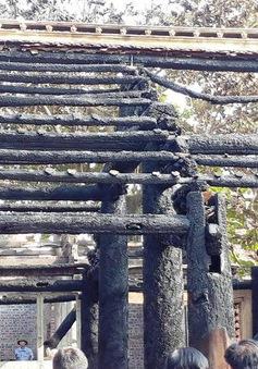 Thái Bình: Đình làng hơn 300 năm tuổi bị thiêu rụi