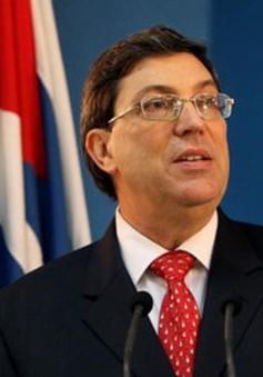 Cuba khẳng định thiện chí đối thoại với Mỹ