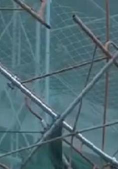 Sập công trình xây dựng ở Khánh Hòa, 1 người tử vong tại chỗ