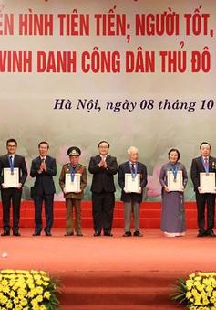 Vinh danh 10 công dân Thủ đô ưu tú năm 2017