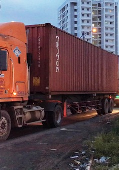 Hà Nội chính thức cấm xe container dịp Tết Nguyên đán 2018