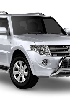 Triệu hồi hơn 2.500 xe Mitsubishi Pajero tại Việt Nam