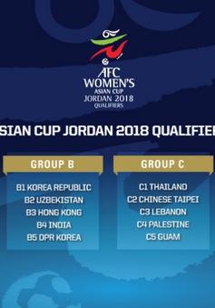 Vòng loại Asian Cup nữ 2018: ĐT nữ Việt Nam nằm ở bảng D cùng Myanmar