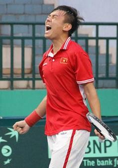 Davis Cup: Hoàng Nam thắng trận, ĐT Việt Nam sống lại hy vọng đi tiếp