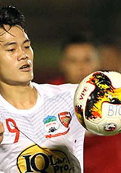 Hậu trận thắng Long An, Văn Toàn gặp vấn đề về thể lực