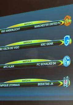 Lịch thi đấu và trực tiếp lượt về tứ kết Europa League ngày 21/4