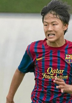 """""""Messi Hàn Quốc"""" đánh tiếng muốn rời Barcelona"""