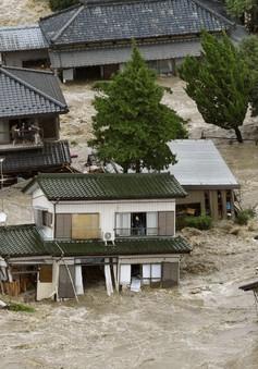 Nhật Bản sơ tán hơn 5.700 người tại các vùng bị ảnh hưởng do lo ngại lũ lụt