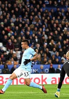 Thắng nhàn cựu vô địch Leicester City, Man City củng cố ngôi đầu!