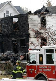 Cháy nhà tại Mỹ, 6 trẻ em thiệt mạng