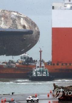 Hàn Quốc: Thử nghiệm đưa tàu Sewol lên mặt đất