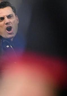 AC Milan sa thải HLV Montella, bổ nhiệm cựu ngôi sao Gattuso vào ghế nóng