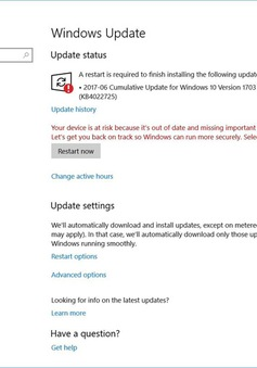 Microsoft tung bản vá bảo mật khẩn cấp dành cho Windows 10