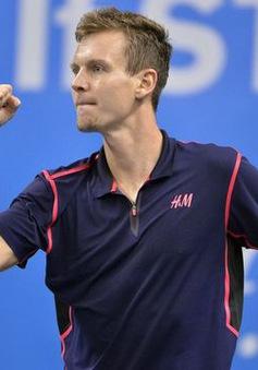 Vòng 2 Rotterdam mở rộng: Tomas Berdych thắng ấn tượng!