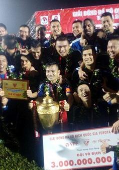 VĐQG V. League 2017 kết thúc: CLB Quảng Nam giành ngôi vô địch, FLC Thanh Hoá giành vị trí á quân!
