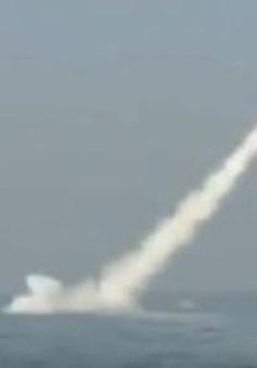 Pakistan bắn thử thành công tên lửa đầu tiên phóng từ tàu ngầm
