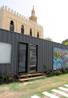 Nhà container - Giải pháp cho khủng hoảng nhà tại Ai Cập