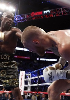 Trận quyền anh thế kỷ: Mayweather hạ McGregor bằng knock-out kỹ thuật