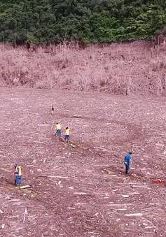 Cận cảnh quá trình tìm kiếm nạn nhân mất tích tại điểm lũ Yên Bái