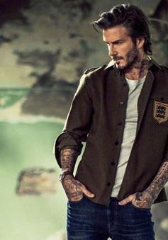 Choáng váng với hình ảnh mới của David Beckham