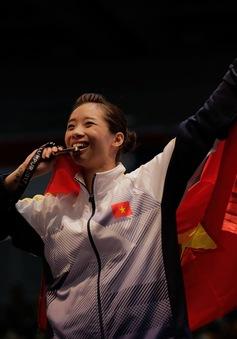 Dương Thúy Vi giành HCV đầu tiên cho Đoàn TTVN tại SEA Games 29