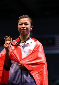 Hoàng Thị Phương Giang giành HCV thứ 2 cho đoàn thể thao Việt Nam tại SEA Games 29