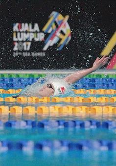 """""""Tiên cá"""" Ánh Viên lần đầu giành HCV 100m bơi ngửa, phá sâu kỷ lục SEA Games"""