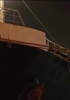 Hai tàu biển tải trọng lớn đâm va tại Hải Phòng, 1 tàu chìm