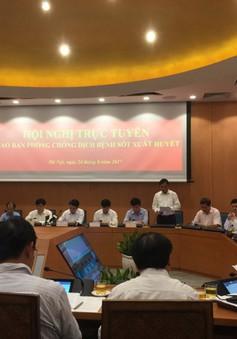 Hà Nội ghi nhận gần 20.000 trường hợp mắc sốt xuất huyết