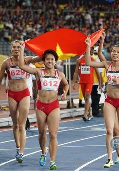 SEA Games 29: Điền kinh Việt Nam vượt chỉ tiêu với 17 HCV