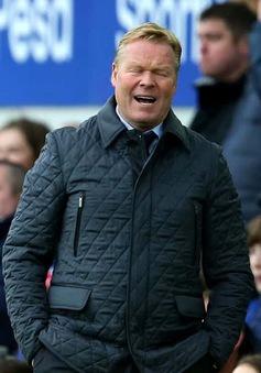 Everton chính thức sa thải HLV Koeman sau thảm bại trước Arsenal