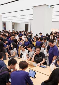 Apple Store tại châu Á nêm chặt người ngày khai trương