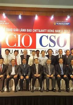 Vinh danh 26 lãnh đạo Công nghệ thông tin và An ninh thông tin tiêu biểu Đông Nam Á 2017