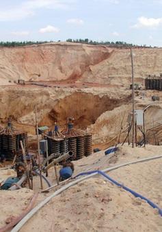 Những lổ hổng trong quản lý khai thác titan tại Bình Thuận