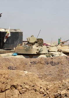 Các lực lượng Iraq kiểm soát khu vực đô thị đầu tiên của Tal Afar
