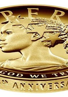 Mỹ đúc tiền vàng có hình người da màu