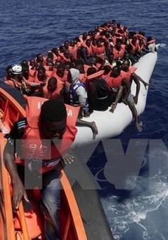 Libya giải cứu hàng trăm người gặp nạn trên biển Địa Trung Hải