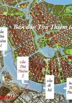 TP.HCM sẽ đổi 16 khu đất lấy cầu Thủ Thiêm 4