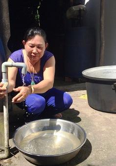 Hàng trăm hộ dân ở TP.HCM bị cắt nước sinh hoạt