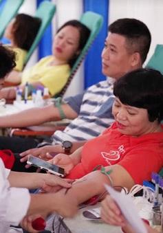 """Ngày hội """"Hiến máu Hạ Hồng"""" tại Bệnh viện Việt Đức"""