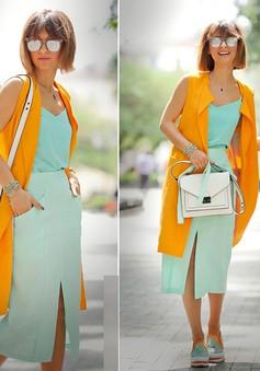 Phối màu quần áo cực chuẩn theo bánh xe màu sắc
