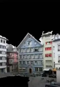 Độc đáo mô hình 3D mô phỏng thành phố Zurich (Thụy Sĩ)