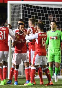 Theo Walcott ghi bàn thứ 100, Arsenal thắng dễ ở vòng 5 cúp FA