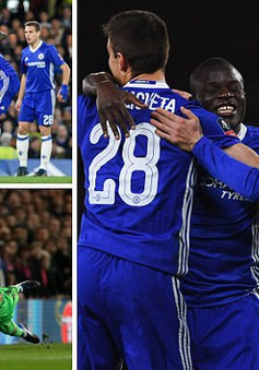 Chelsea 1-0 Man Utd: Herrera bị đuổi, Kante ghi bàn duy nhất
