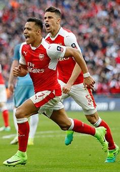 Ngược dòng thành công trước Man City, Arsenal gặp Chelsea ở chung kết FA Cup