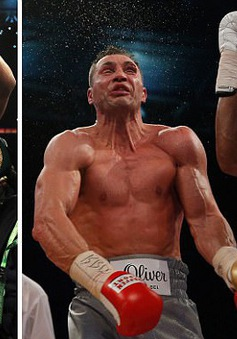 Anthony Joshua thắng knock-out Wladimir Klitschko